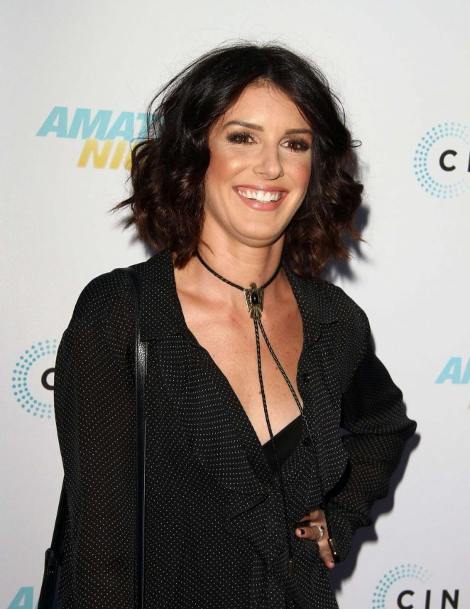 Shenae Grimes - Amateur Night Premiere in Hollywood