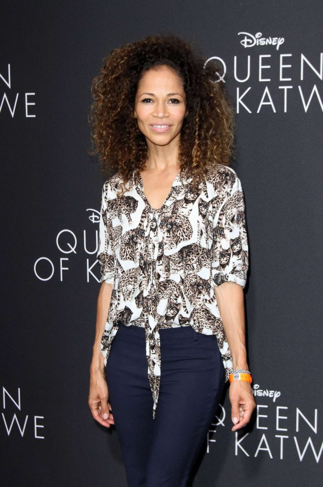 Sherri Saum - 'Queen of Katwe' Premiere in Los Angeles