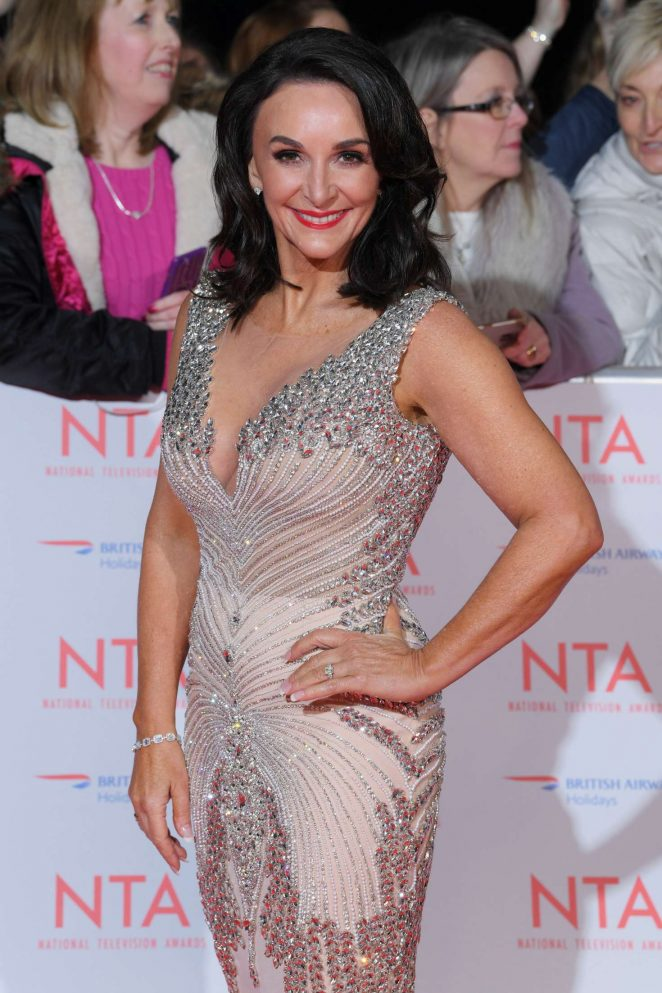 Shirley Ballas – National Television Awards 2018 in London