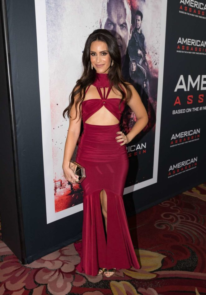 Shiva Negar - American Assassin premiere in Hollywood