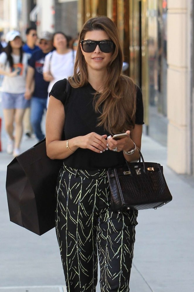 Shiva Safai out shopping in Beverly Hills
