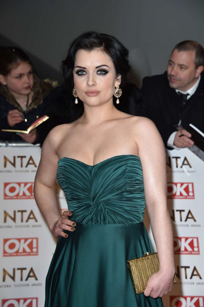 Shona McGarty - 2015 National Television Awards in London