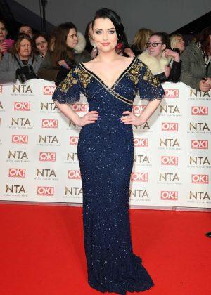 Shona McGarty - 2017 National Television Awards in London
