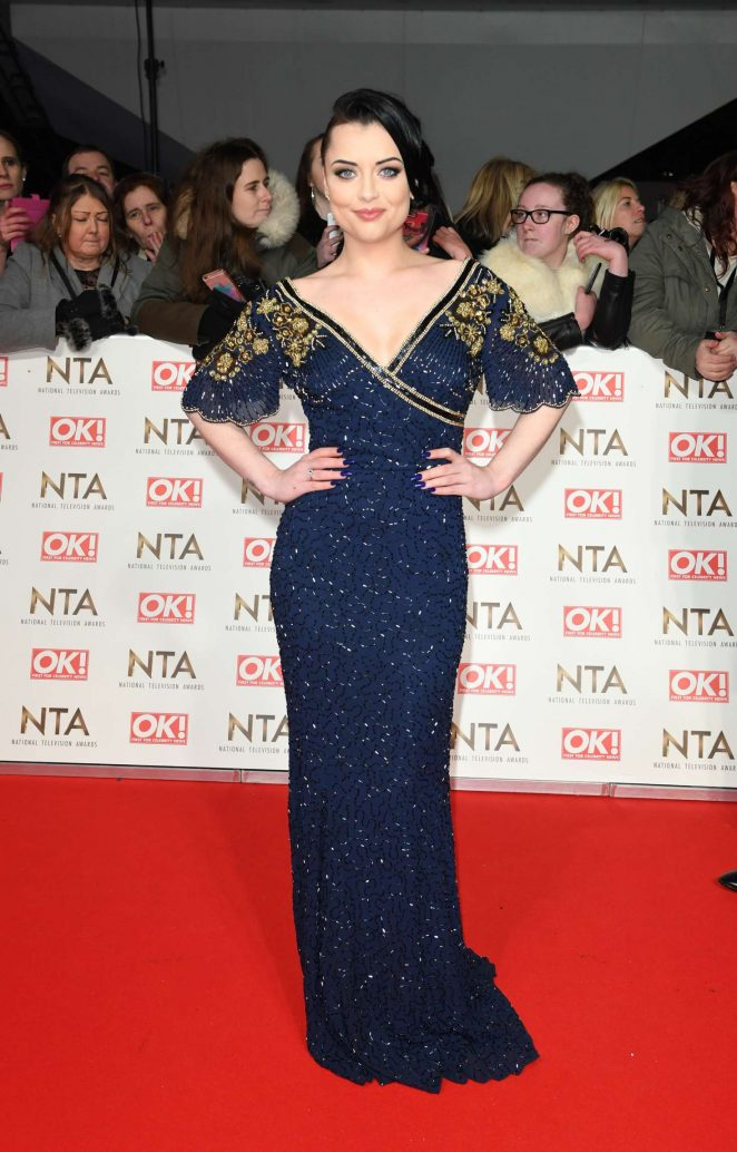 Shona McGarty - 2017 National Television Awards in London