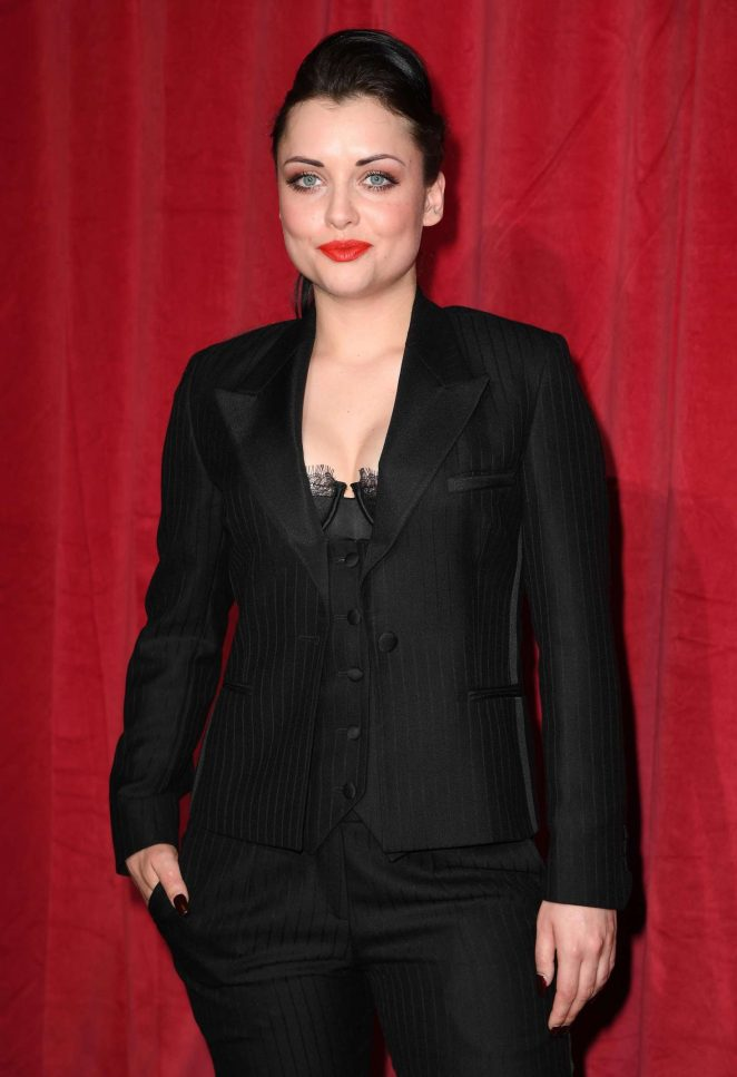 Shona McGarty - British Soap Awards 2016 in London