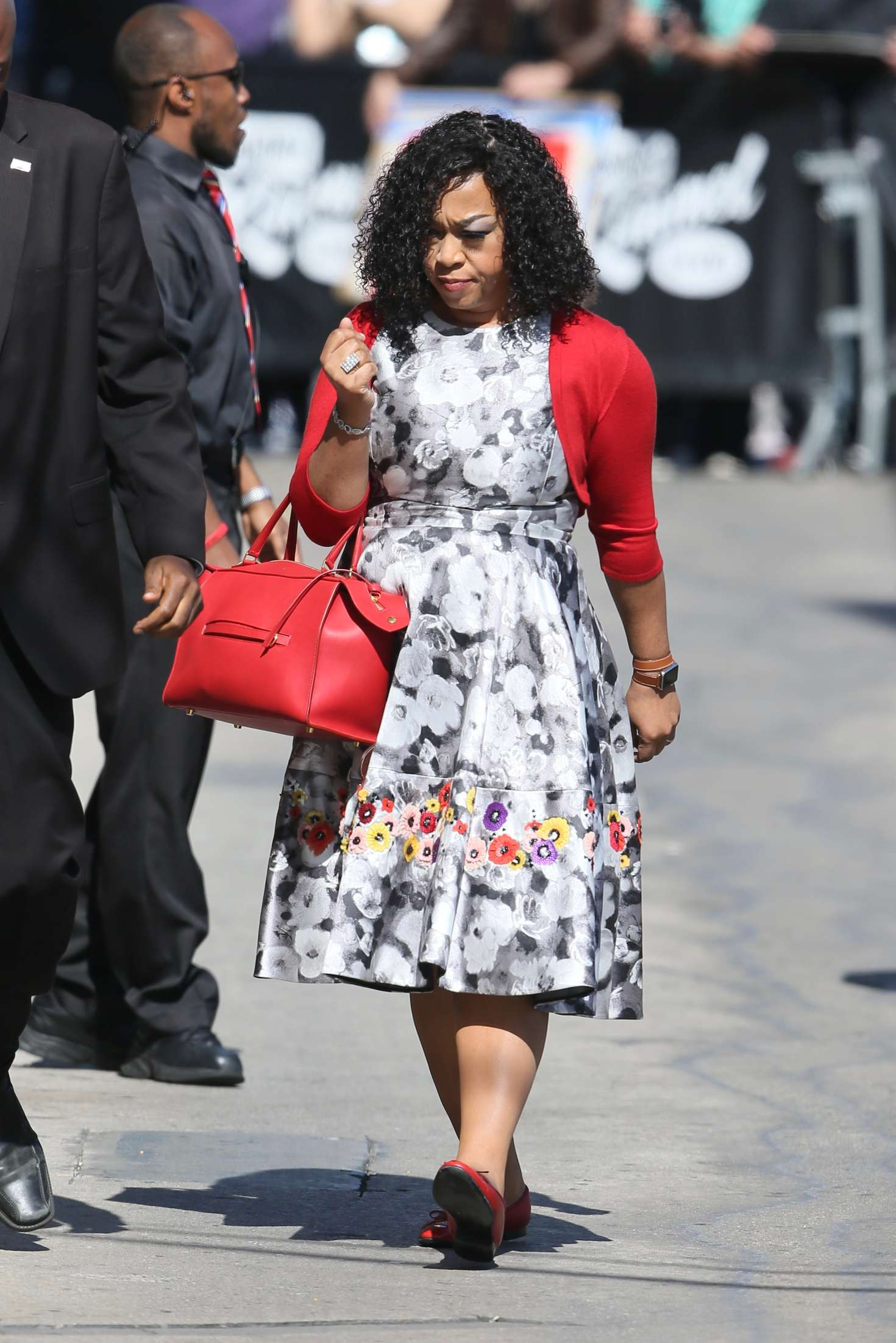 Shonda Rhimes - Arriving at Jimmy Kimmel Live in Los Angeles