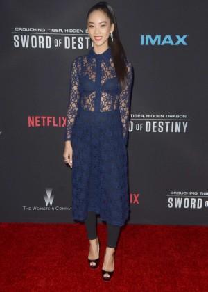 Shuya Chang - 'Crouching Tiger, Hidden Dragon: Sword of Destiny' Premiere in Los Angeles