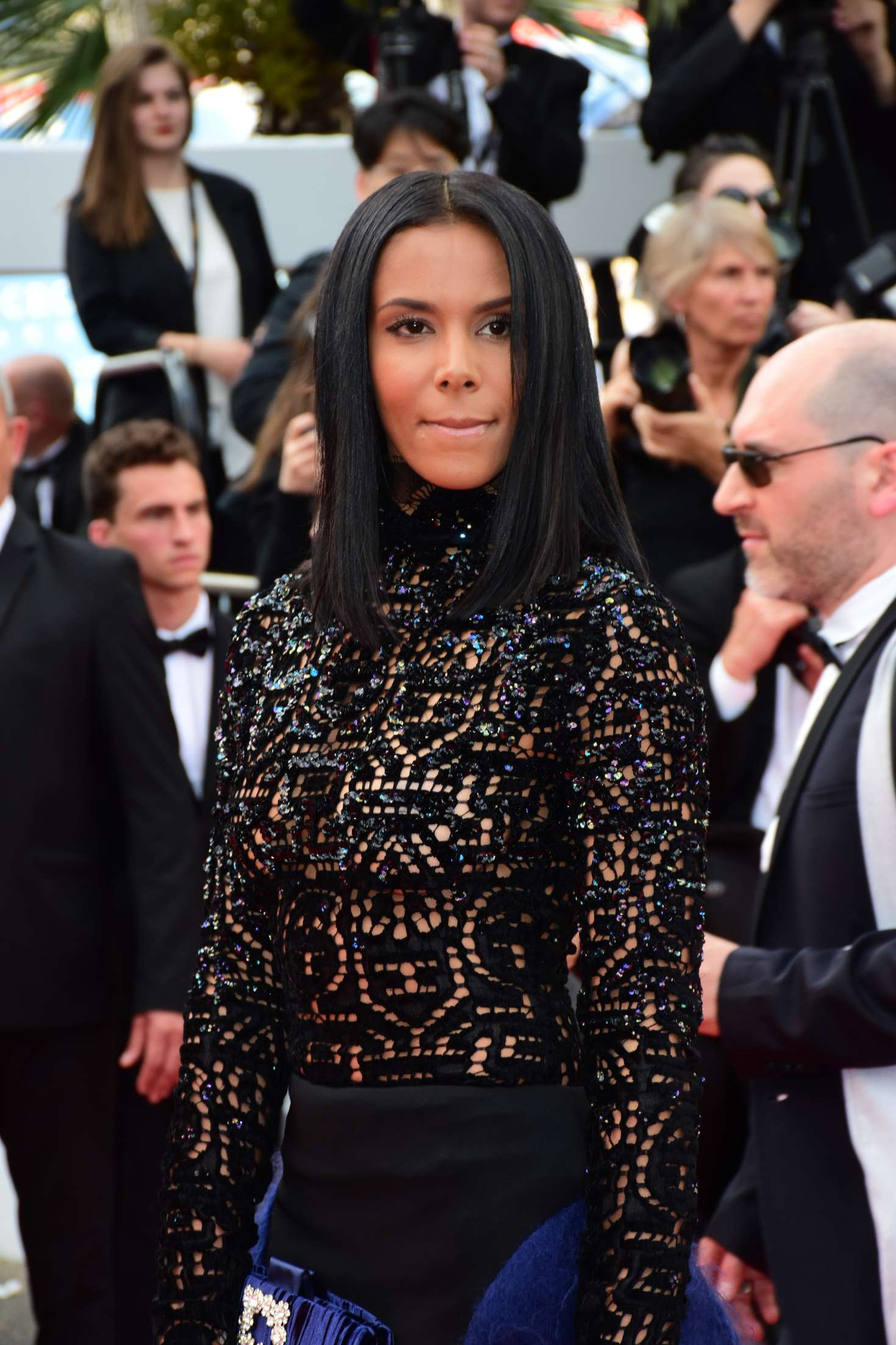 Shy'm - 'Everybody Knows' Premiere and Opening Ceremony at 2018 Cannes Film Festival