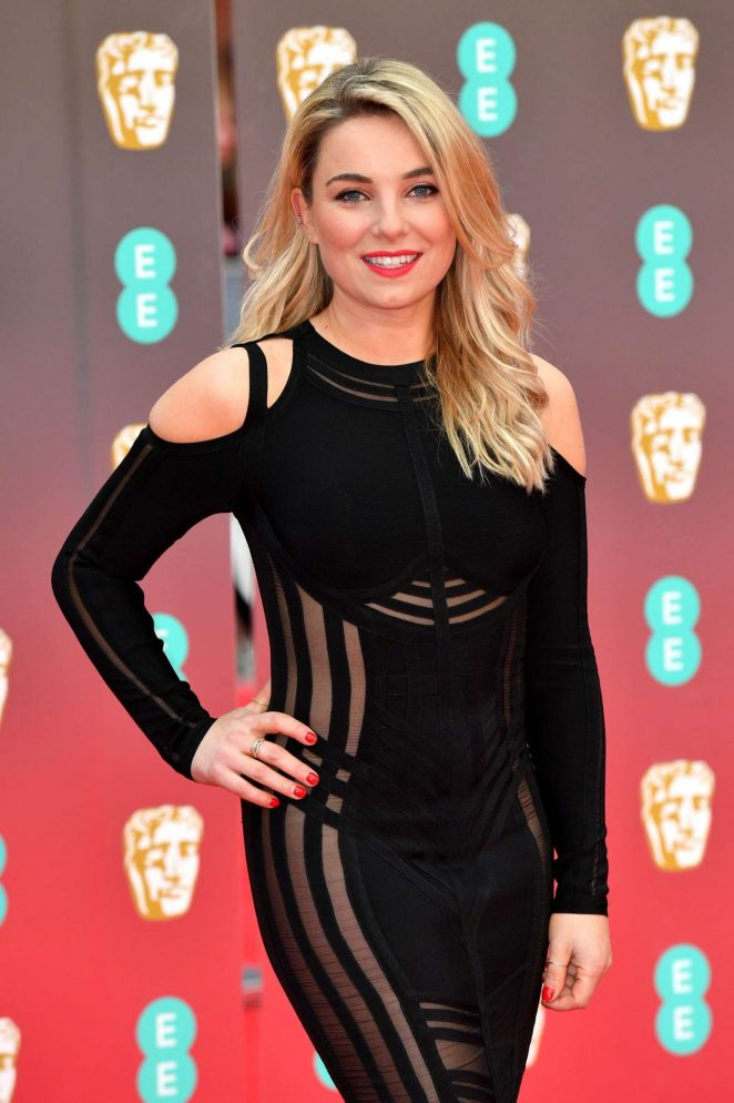 Sian Welby – 71st British Academy Film Awards in London
