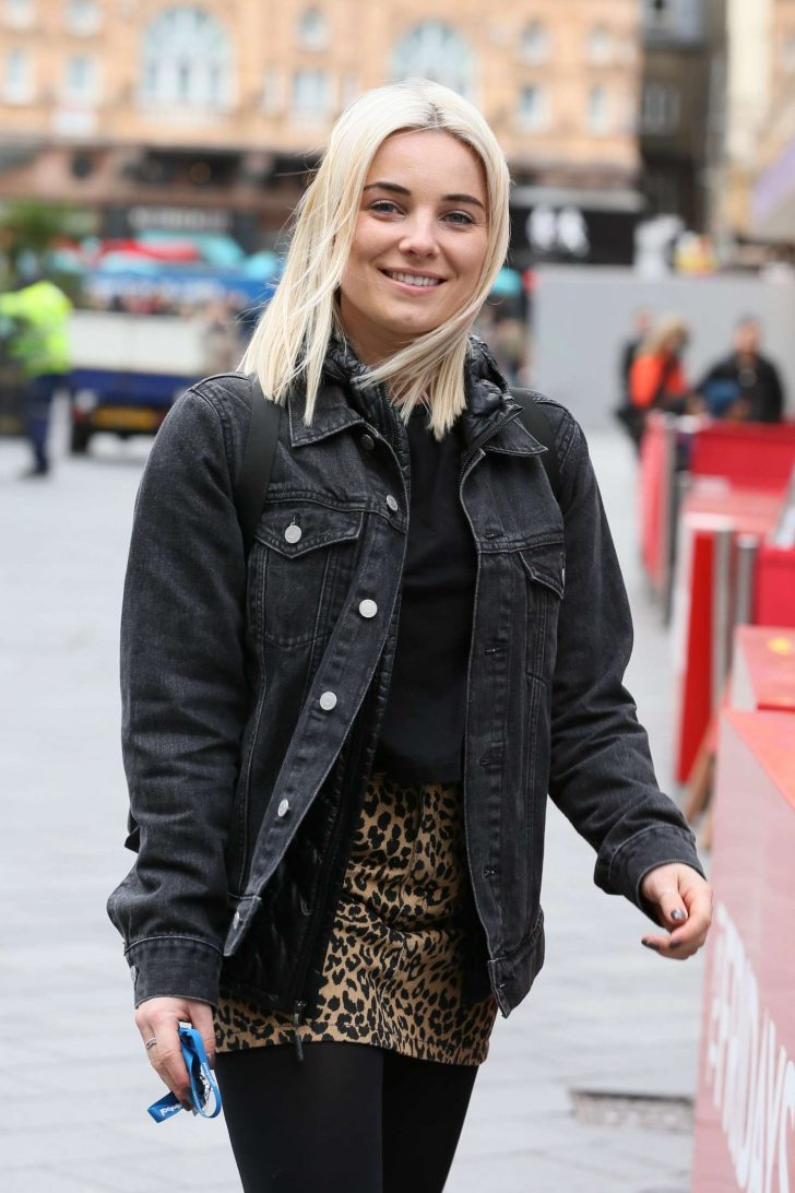 Sian Welby at Global Radio Studios in London