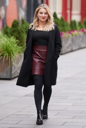 Sian Welby - Pictured outside Capital Radio in London