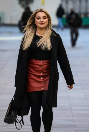 Sian Welby - Seen at the Global Radio Studios in London