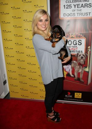 Sian Welby - The Dogs And Their Faithful Celebrities Event in London