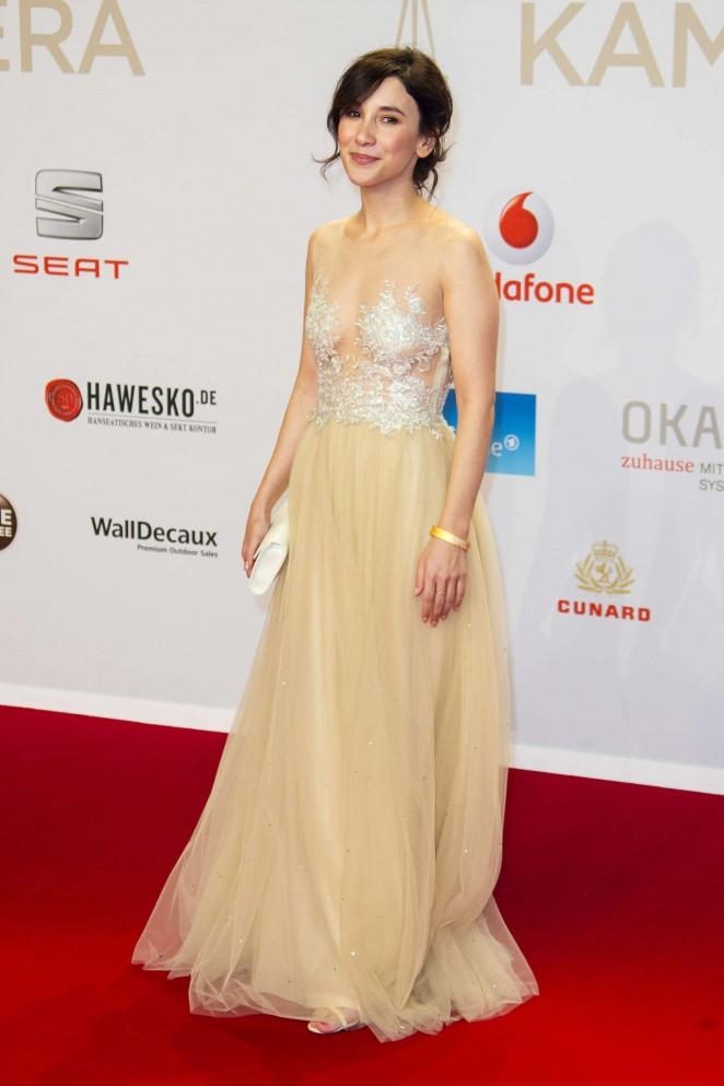 Sibel Kekilli: 51st Annual Goldene Kamera Award -04