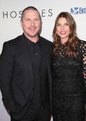 Sibi Blazic and Christian Bale - 'Hostiles' Premiere in Los Angeles