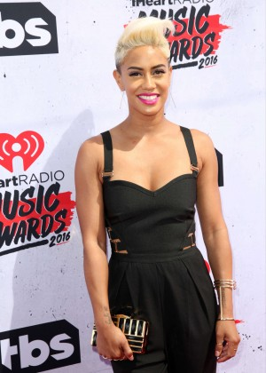 Sibley Scoles - iHeartRadio Music Awards 2016 in Los Angeles