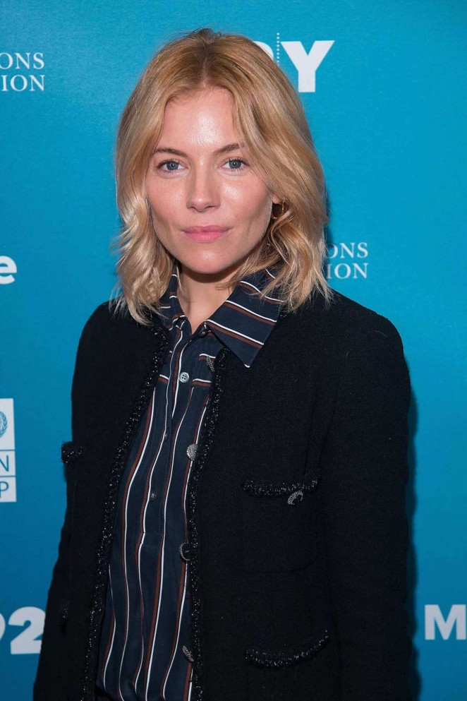 Sienna Miller – 2015 Social Good Summit at the 92Y in New York