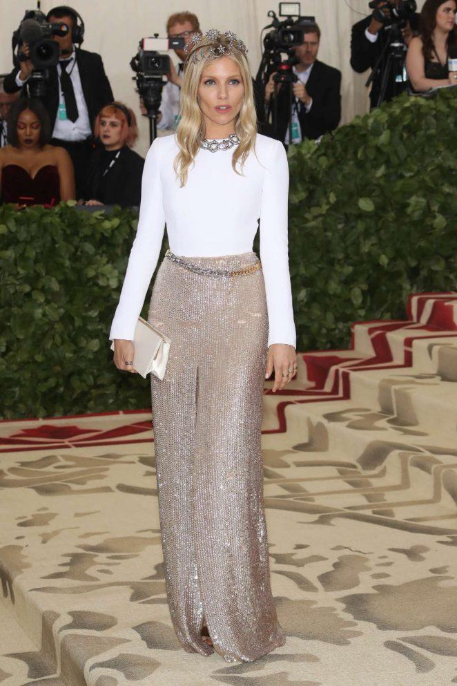 Sienna Miller - 2018 MET Gala in NYC