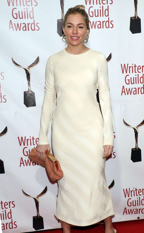 Sienna Miller - 2020 Writers Guild Awards in New York City