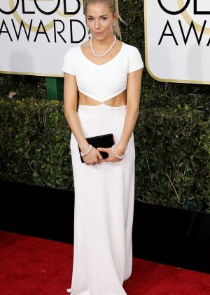 Sienna Miller - 74th Annual Golden Globe Awards in Beverly Hills