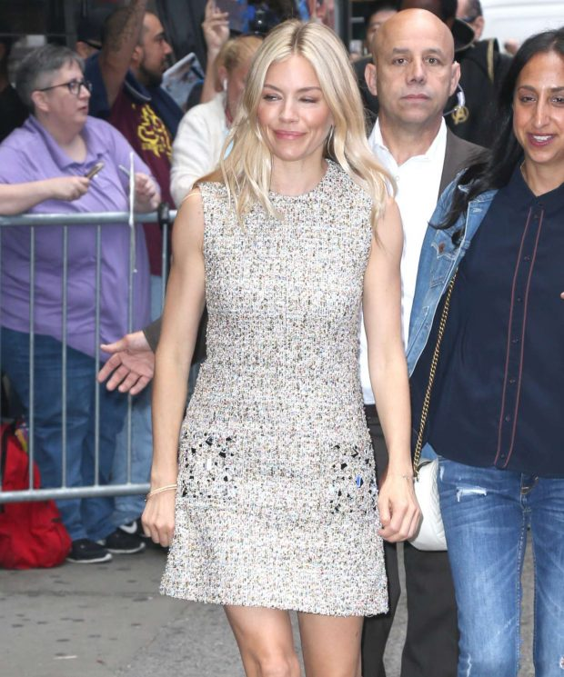 Sienna Miller: All smiles as she arrives at the Good Morning in New York-08