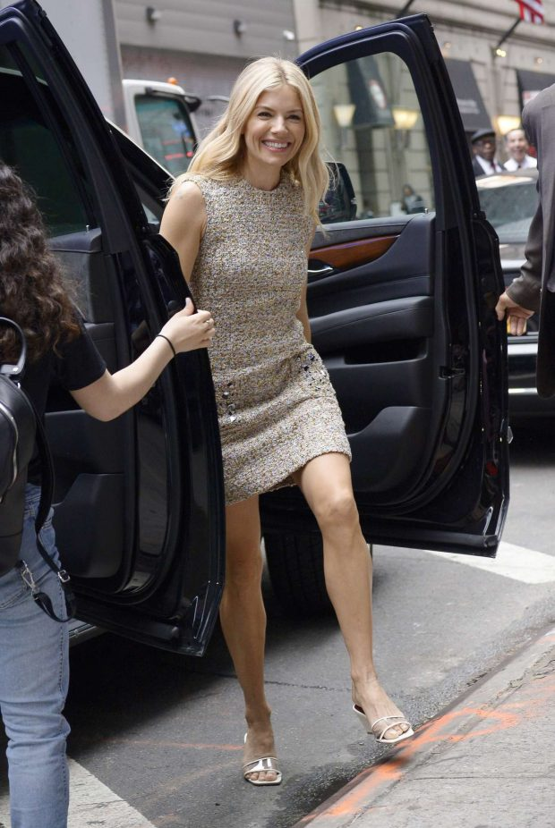 Sienna Miller: All smiles as she arrives at the Good Morning in New York-09