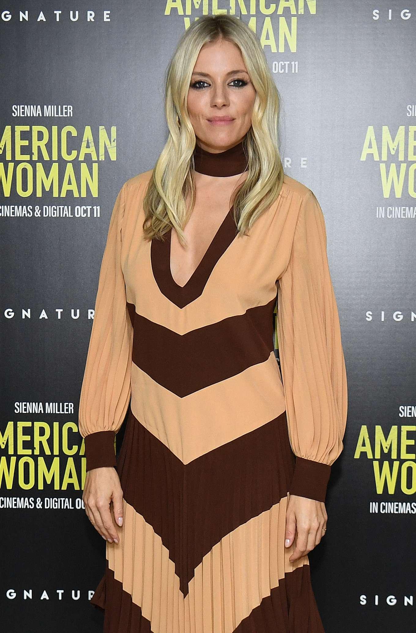 Sienna Miller - 'American Woman' Premeire in London