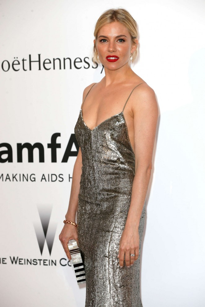 Sienna Miller - amfAR 2015 Cinema Against AIDS Gala in Cannes