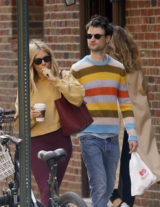 Sienna Miller and her ex Tom Sturridge: Spotted while grab a morning coffee in New York City-01