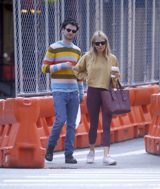 Sienna Miller and her ex Tom Sturridge: Spotted while grab a morning coffee in New York City-02