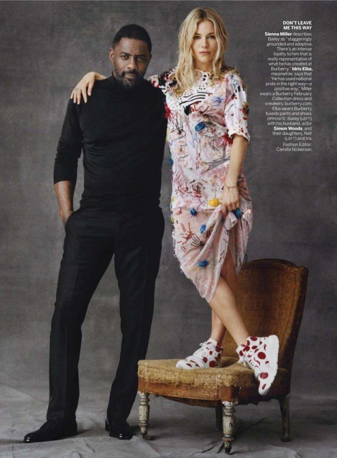 Sienna Miller and Idris Elba – Vogue US Magazine (April 2018)