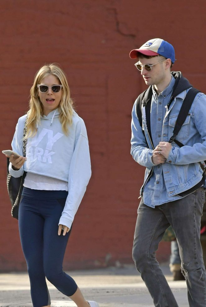 Sienna Miller and Tom Sturridge out in New York City