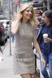 Sienna Miller - Arrives at 'Good Morning America' in New York