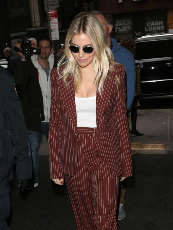 Sienna Miller - Arrives at The Today Show in New York