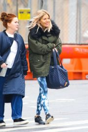 Sienna Miller - Arrives at workout session in New York