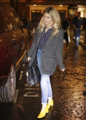 Sienna Miller - Arriving at the Bocca di Lupo Restaurant in London