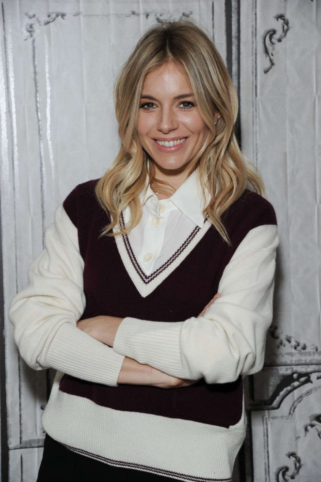 Sienna Miller at AOL Build Speaker Series in New York