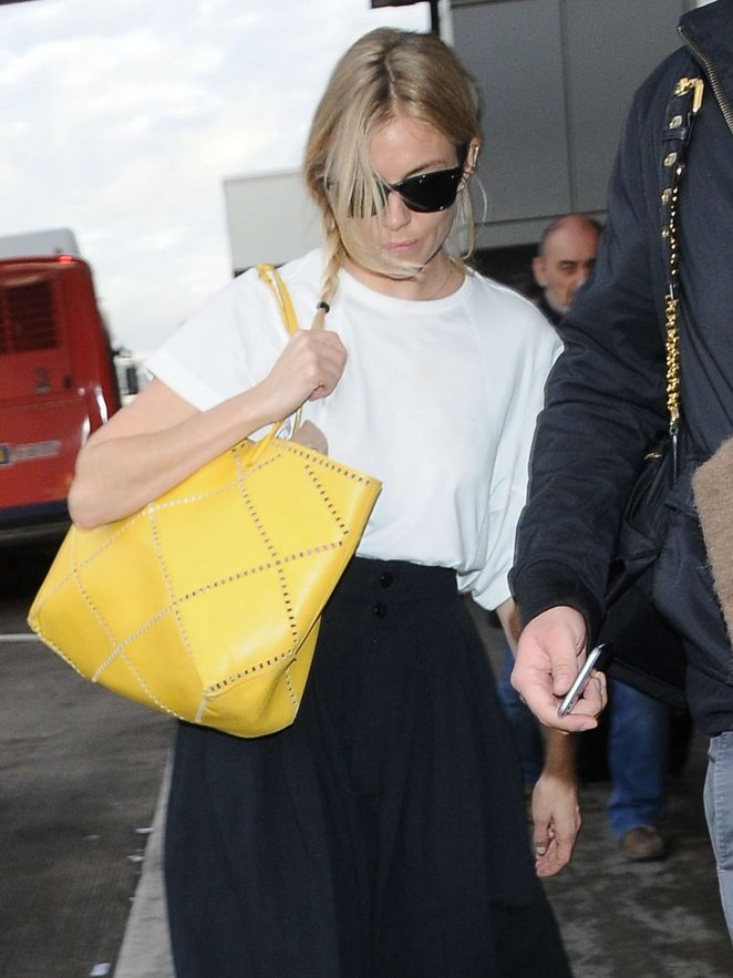 Sienna Miller at LAX airport in Los Angeles -10