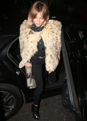 Sienna Miller at the launch of 100 Wardour Street in London