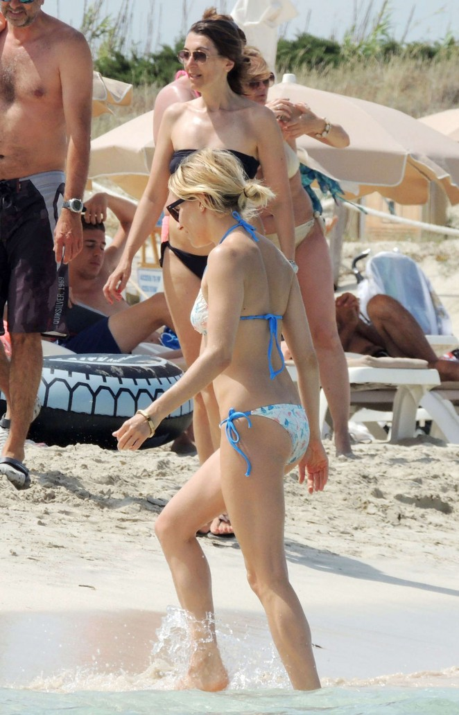 Sienna Miller in Bikini in Spain