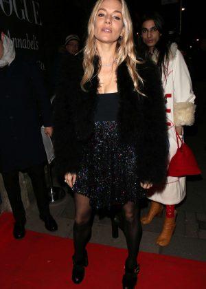 Sienna Miller - British Vogue Fashion and Film Party 2018 in London