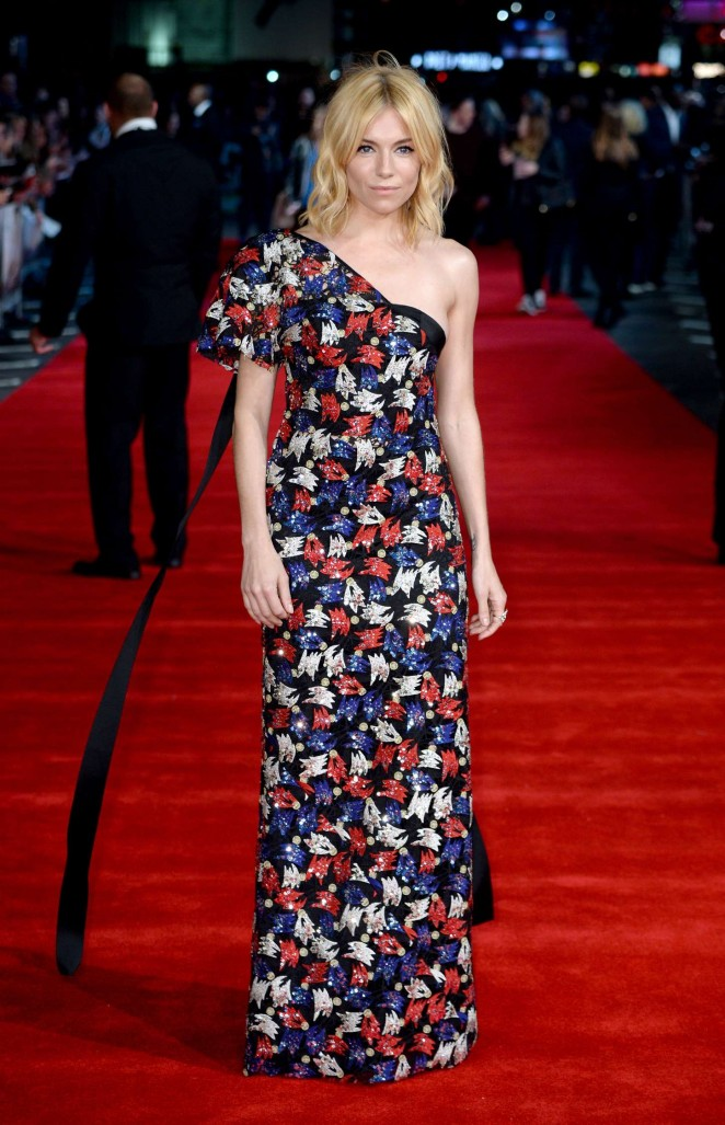 Sienna Miller - 'Burnt' Premiere in London
