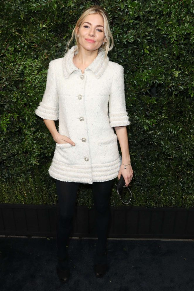 Sienna Miller - Charles Finch and CHANEL Pre-Oscar Awards Dinner in LA