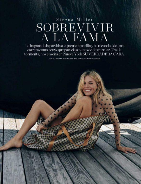 Sienna Miller - Elle Magazine (Spain - March 2020)