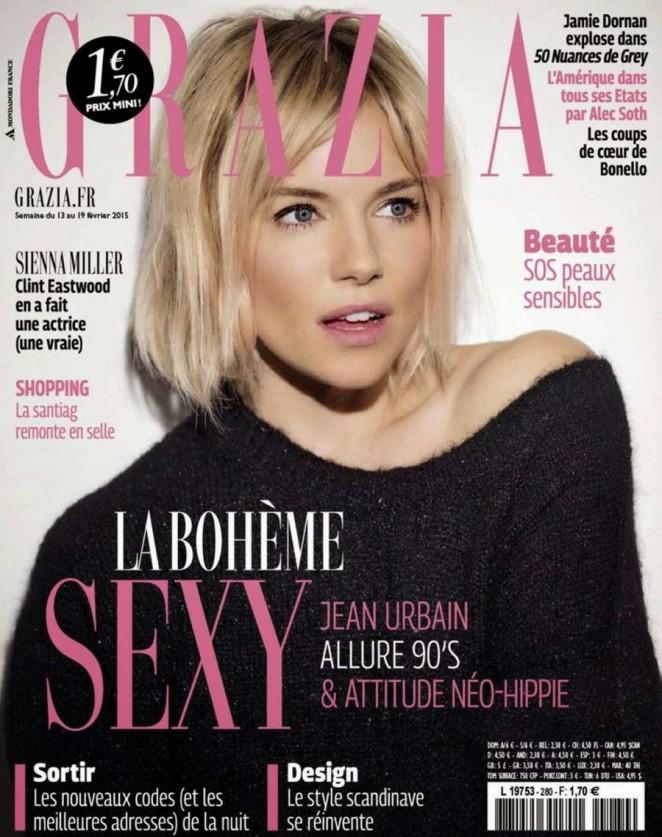 Sienna Miller - Grazia France Magazine (February 2015)