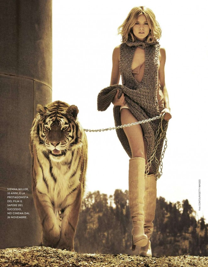 Sienna Miller – Grazia Italy Magazine (November 2015)