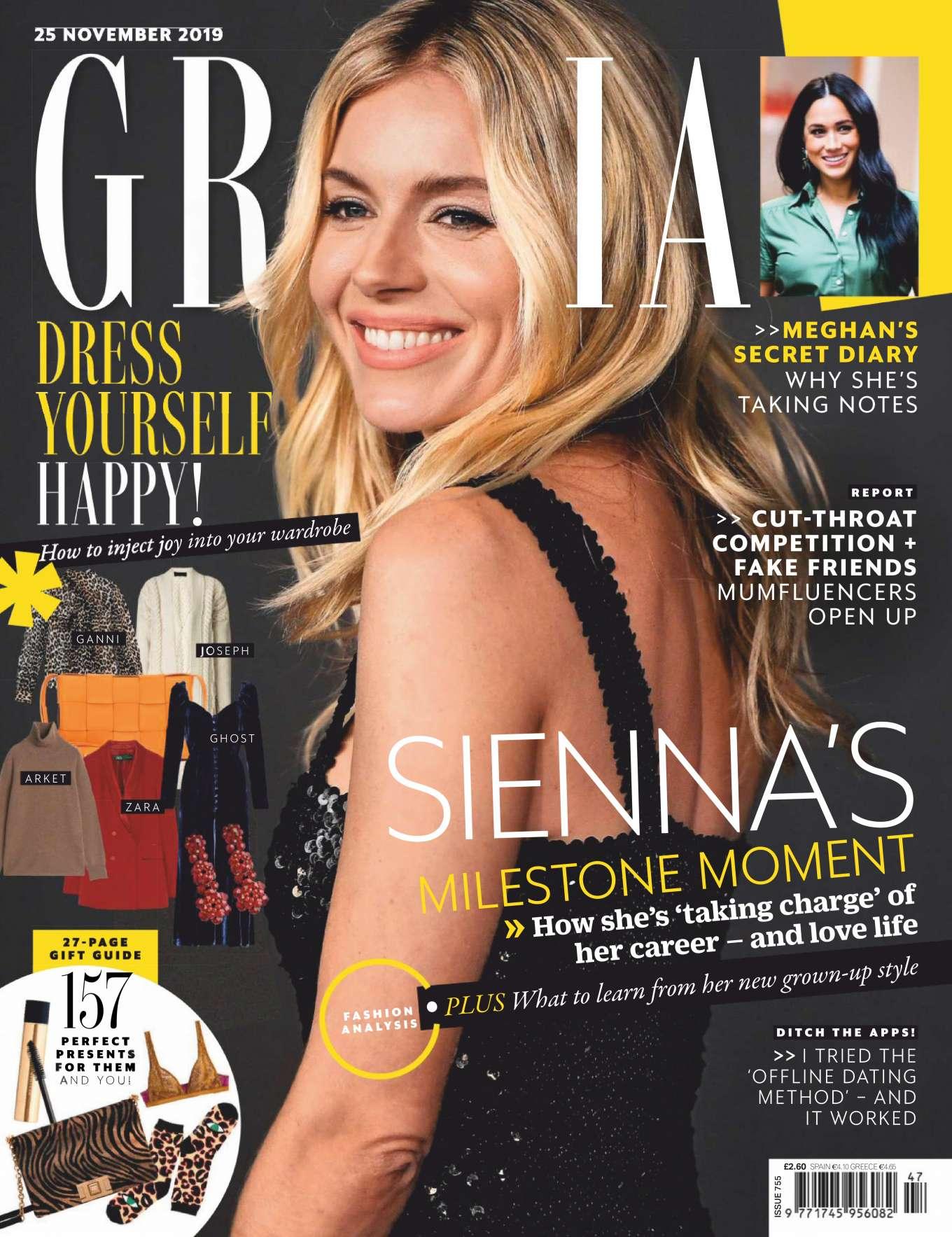 Sienna Miller - Grazia UK Magazine (November 2019)