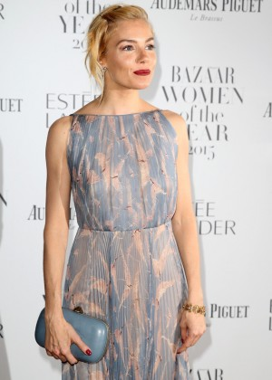 Sienna Miller - Harper's Bazaar Women Of The Year Awards 2015 in London