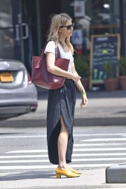 Sienna Miller in Long Skirt - Out in NYC