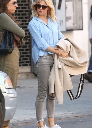 Sienna Miller in Tight Jeans out in New York City